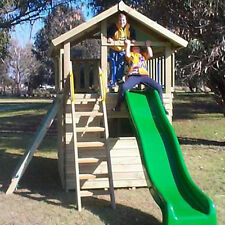 NEW Wooden Cubby House The Lookout Fort & Cubby