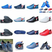 Multi-color Mens Sport Jogging Casual Shoes Mesh/Faux Leather Sneakers Athletic