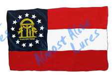 Georgia State Flag GA Vinyl Decal Sticker - Car Truck RV Cup Boat Tablet