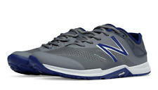 New Balance Minimus Trainer Men's Cross-Training Shoes, Grey with Blue - MX20MB5