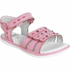 pediped Lynn Flex TODDLER Girls Shoes Pink Leather Sandals MEDIUM-WIDE New