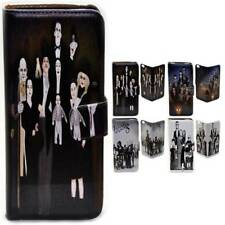 For HTC One X9 10 M9 M8 Desire 820 626 The Addams Family Print Wallet Phone Case