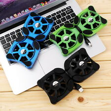 "USB Port Mini Octopus Notebook Fan Cooler Cooling Pad For 7""-15"" Laptop FT"