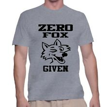 Men's T Shirt Zero Fox Given Tee Funny S Cool Shirt Gift Humor T-Shirt