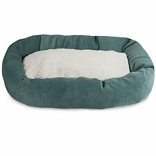 Majestic Pet Azure Villa Sherpa Bagel Bed