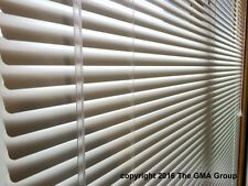 """1"""" Premium Aluminum Mini Blinds 26-28"""" Wide by 54-56"""" Long $32.17 FREE SHIPPING"""