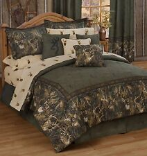 Browning® Whitetails 11pc Bed in Bag or 4pc Comforter/Skirt/Sham Sets  Licensed
