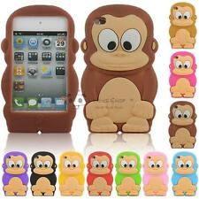 For Apple iPhone 5/5S 6/6S Cute Cartoon Funny Monkey Silicone Soft Case Cover