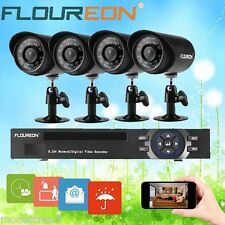 8CH 960H HDMI DVR 4X900TVL Outdoor Camera CCTV Home Security Surveillance System