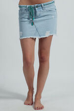 "ELEMENT ZOE GIRLS/WOMENS DENIM DISTRESSED SKIRT BRAND NEW ""U PICK SIZE"""