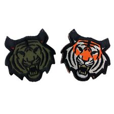 Tiger Head US Army Morale Tactical Military Badge Velcro Embroidered Patch Cool