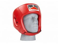 Pro Box Base Spar Senior Sparring Headguard - Blue or Red / Small - Large