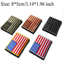 American Flag Embroidered Patch USA United States Military Emblem Badge Patches
