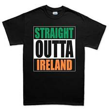 Straight Outta Ireland Funny Irish Compton T shirt Tee Top T-shirt