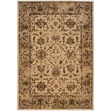 RUGS AREA RUGS CARPET AREA RUG DECOR TRADITIONAL ORIENTAL WHITE IVORY RUGS NEW