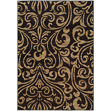 RUGS AREA RUGS CARPET AREA RUG FLOOR DECOR MODERN TRANSITIONAL BLACK RUGS NEW