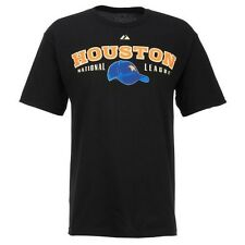 NWT Majestic Mens Houston Astros Cooperstown Nostalgia T-shirt