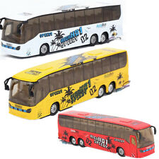 1:50 Alloy Bus Pull Back Bus models City Bus Kids Toys Bus Car Models