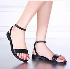 Boho Stylish Women Girls Simple Shoes Comfortable Flat Classic Sandals 3 Colors