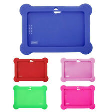 "New 7"" Silicone Cute Soft Gel Case Cover For Android A13 A23 Q88 Tablet PC Kids"