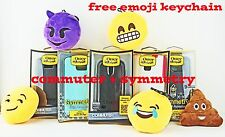 Otterbox Commuter Symmetry Series Case for Various Phone Model + Emoji Keychain