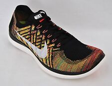 Nike Mens Free 4.0 Flyknit Running Athletic Shoes Sneakers 717075 011 New
