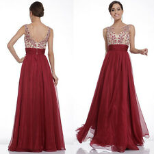 Sexy Womens Slim Long Dress Prom Evening Party Bridesmaid Wedding Formal Gown