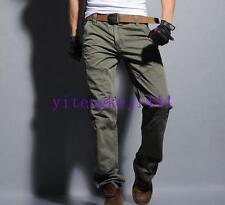 Mens Fashion Cargo Combat Overalls Military Army Trousers Outdoor Work Pants New