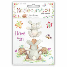 Helz Cuppleditch 'Neighbourwood' Clear Stamps - Choice of 3 Designs