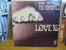 ERIC BURDON AND THE ANIMALS LOVE IS LP VINYL RECORD 12""