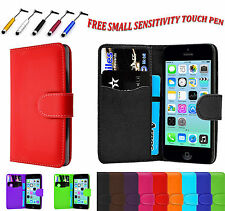 Magnetic PU Leather Side Book Wallet Flip Case Cover For Apple iPod Touch 6 UK