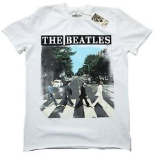 AMPLIFIED Vintage Official THE BEATLES Abbey Road Rock Star London T-Shirt g.M.