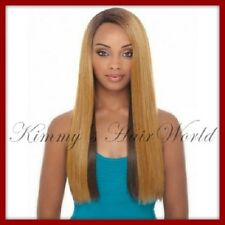 Janet Collection Natural Super Flow Deep Part Synthetic Lace Wig - BISA
