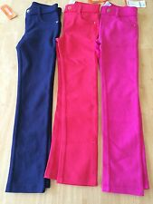 GYMBOREE CIAO PUPPY PONTE PANTS Navy blue Pink Red 6 7 8 10 NWT