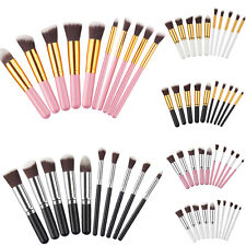 10pcs Pro Cosmetic Makeup Tool Brush Set Eyeshadow Blush Brushes Travel Tools #A
