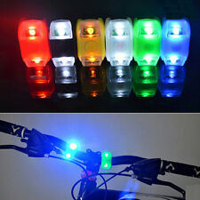 LED Superbright Silicone Safety Bike Bicycle Frog Head Front Rear Wheel Light WK