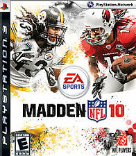 Madden NFL 10 (Sony PlayStation 3, 2009)--Disc Only!