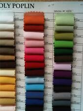 1 YARD OF POLYESTER POPLIN FABRIC 60'' WIDE TABLE COVERS DECORATION APPAREL