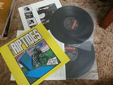 "THE RIPTIDES RESURFACE DOUBLE VINYL RECORD LP 12"" w/INNERS"