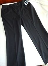 Women's NWT Jones New York Black Pinstripe Pants Size 14W