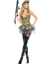 New Be Wicked BW1056 Sexy Army Girl Adult Halloween Costume