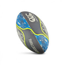 Canterbury Thrillseeker Unisex Junior Grey Blue Athletic Training Rugby Ball