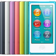 Apple iPod Nano 7th Generation 16GB MP3 Player (Excellent) - Various Colors