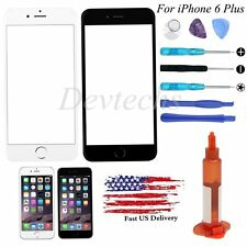 Front Screen Touch Glass Len Replacement For iPhone 6 Plus 5.5'' / Tools Glue