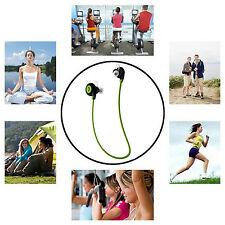 Wireless Bluetooth Sport Headset Stereo Headphone Sweatproof Earphone For iPhone