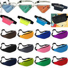 Fanny Pack Bum Bag Waist Belt Pouch Travel Sport Running Holiday Money Wallet