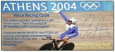 RARE Early Chris Hoy Hand Signed Autograph with Provenance ~ 2006 ~ Athens 2004