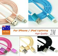 2m 8Pin USB Data Sync Charge Cable for iPhone5/6 iPad Air/ Mini iPod Nano/Touch