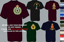 UNITS 1 TO N ROYAL CANADIAN ARMY INFANTRY CORPS AIR FORCE NAVY T SHIRT XSTO 5XL
