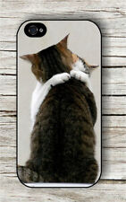 CAT LOVE IN THE AIR EMBRACE COUPLE CASE FOR iPHONE 4 , 5 , 5c , 6 -jnb5Z
